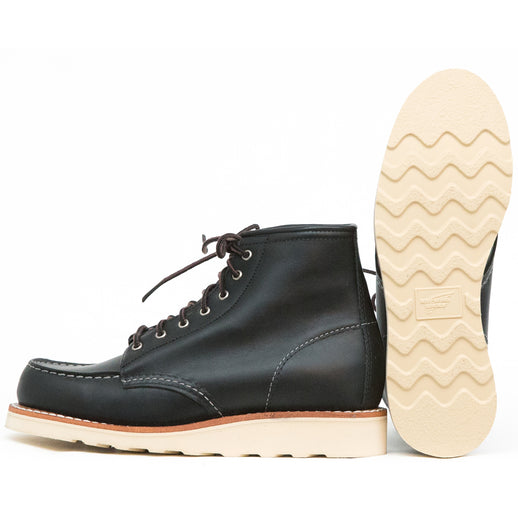 3373 6'' Moc Toe Black Boundary