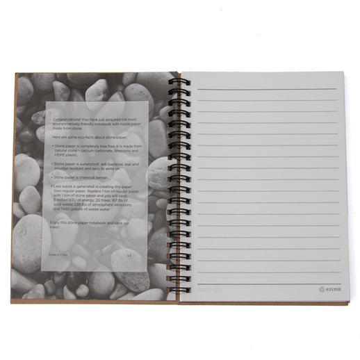 Red Wing Stone Paper Notebook