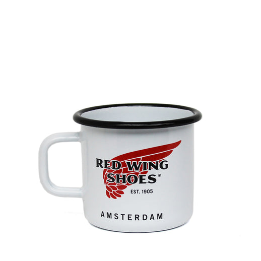 Enamel Cup, Red Wing Amsterdam