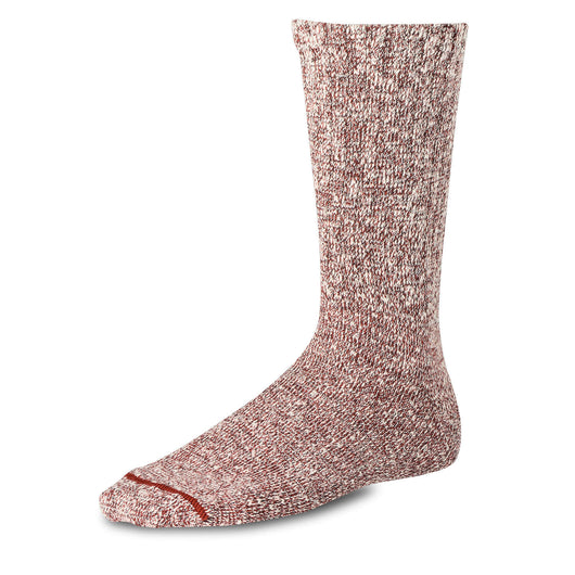 Cotton Rag Socks - Rust