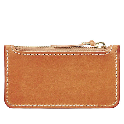 Zipper Pouch - Vegetable Tanned