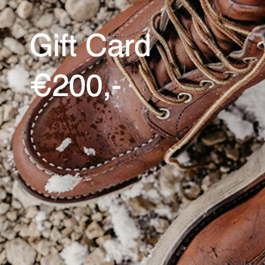 Red Wing Amsterdam gift card