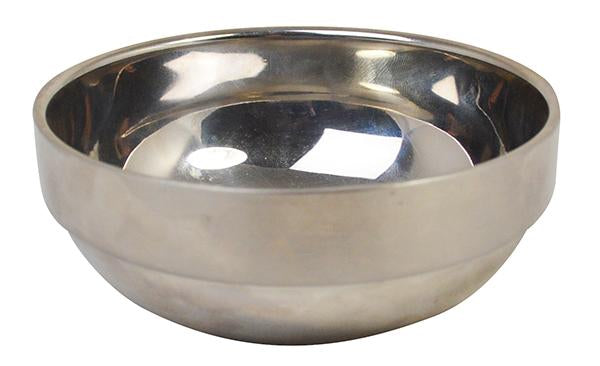 Stainless Steel Double Walled Bowl- 16cm 17.5oz 500ml