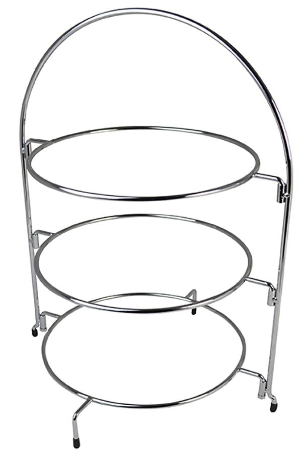 Chrome Wire Cake Stand 24in 61cm