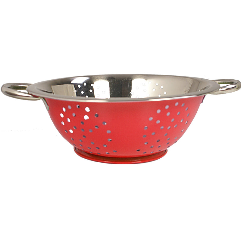 Colours Colander 24cm 9.5in RED
