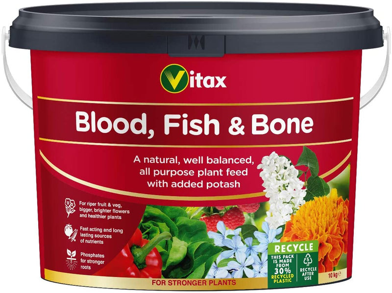 Vitax Fish & Bone 10Kg Blood Fish and Bone Fertiliser