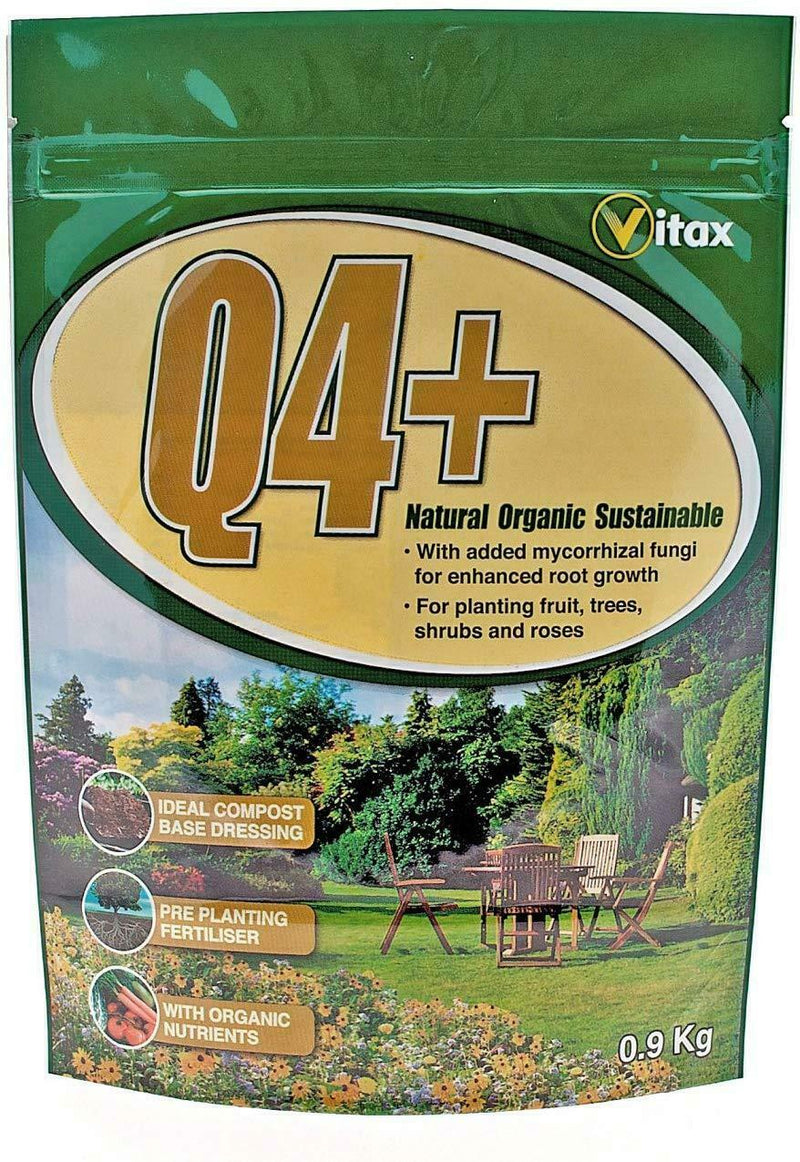 Vitax Q4 Plus Mycorrhizal Root Enhancer Fungi 900g Boosts Systems Plants Plant