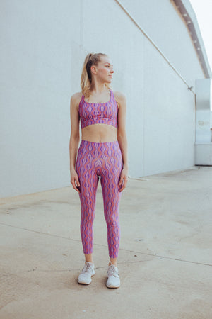 Leggings in Grape Soda