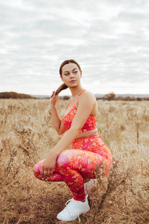 Leggings in Desert Rose