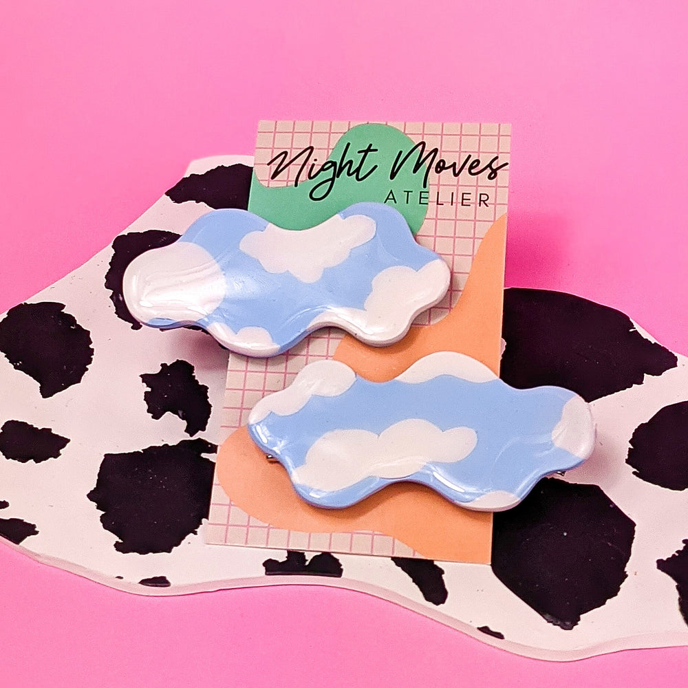 Cloud Babe Hair Clips