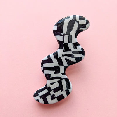Static Age Squiggle Babe Hair Barrette