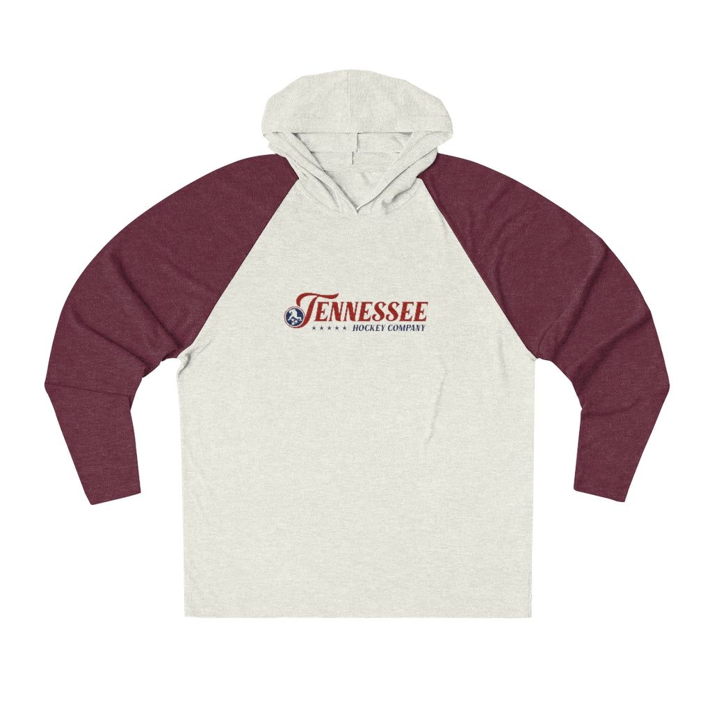 TN HOCKEY CO. VINTAGE FULL NAME TRIBLEND HOODIE