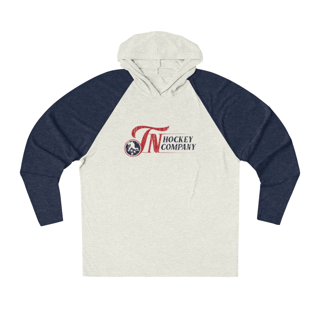TN HOCKEY CO. RETRO TN TRI-BLEND HOODIE