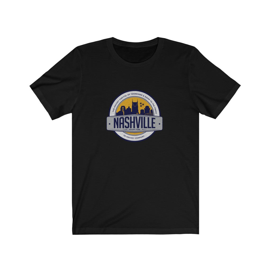 NASH SKYLINE BADGE TEE