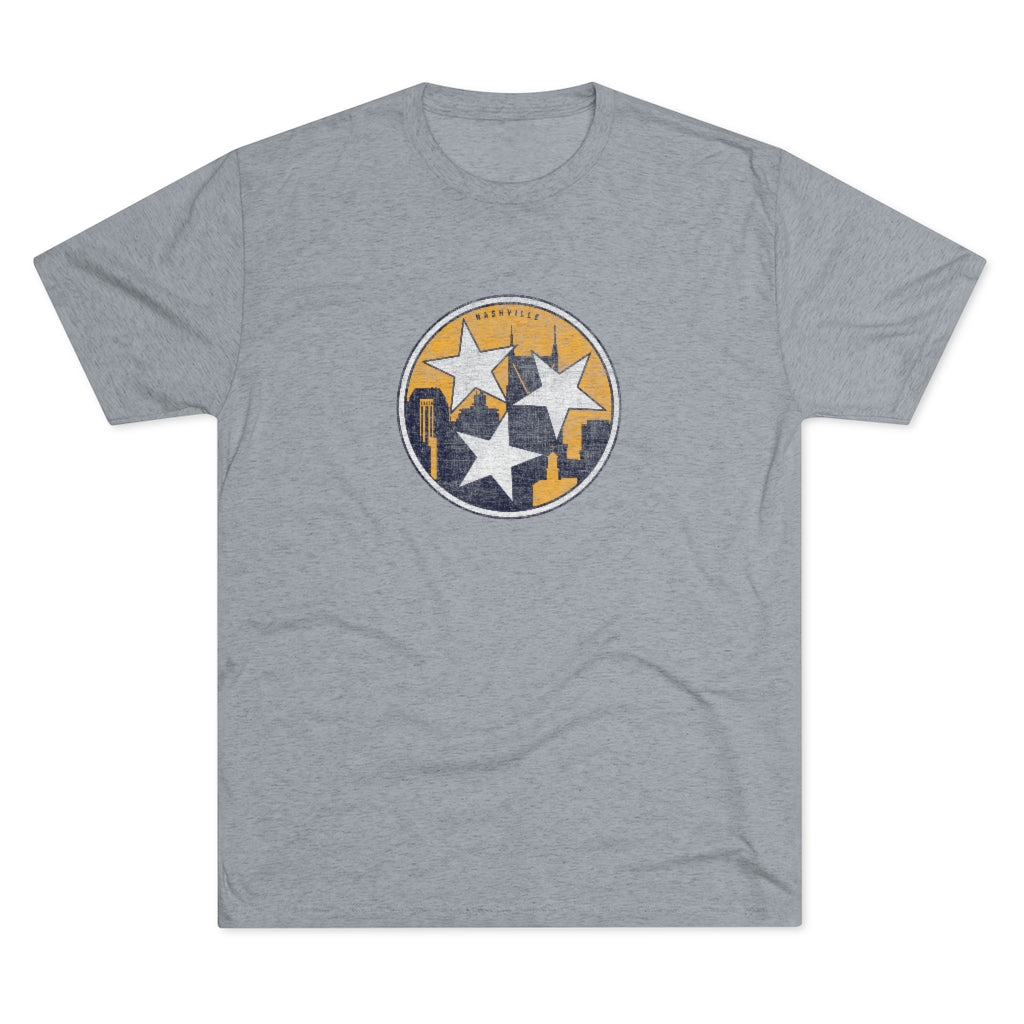 MEN'S SKYLINE TRI-STAR TEE