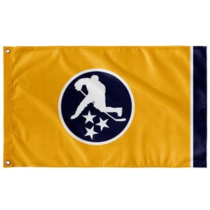TN HOCKEY CO. FLAG NASH