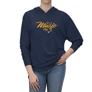 TN HOCKEY CO. MUSIC CITY HOCKEY TRI-BLEND HOODIE