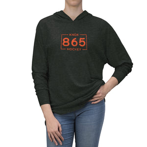 KNOXVILLE AREA CODE UNISEX TRIBLEND HOODIE