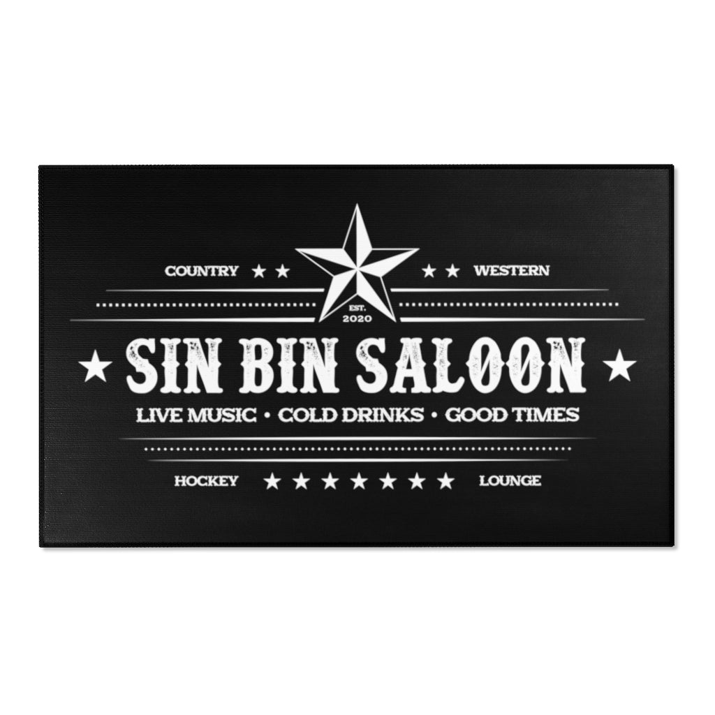 SINBIN SALOON COUNTRY AREA RUG