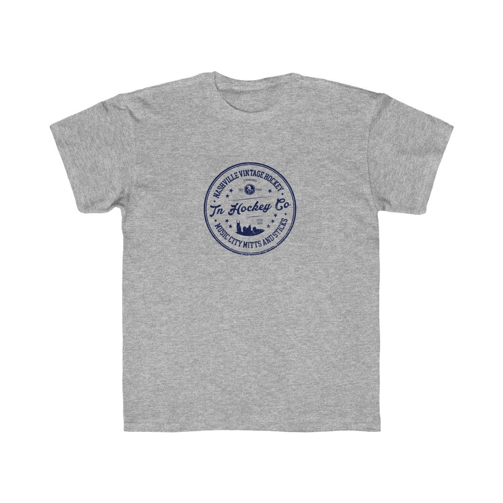 TN HOCKEY CO. YOUTH NASHVILLE VINTAGE SKYLINE TEE