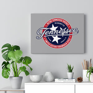 TN HOCKEY CO. RETRO TRI-STAR WALL CANVAS