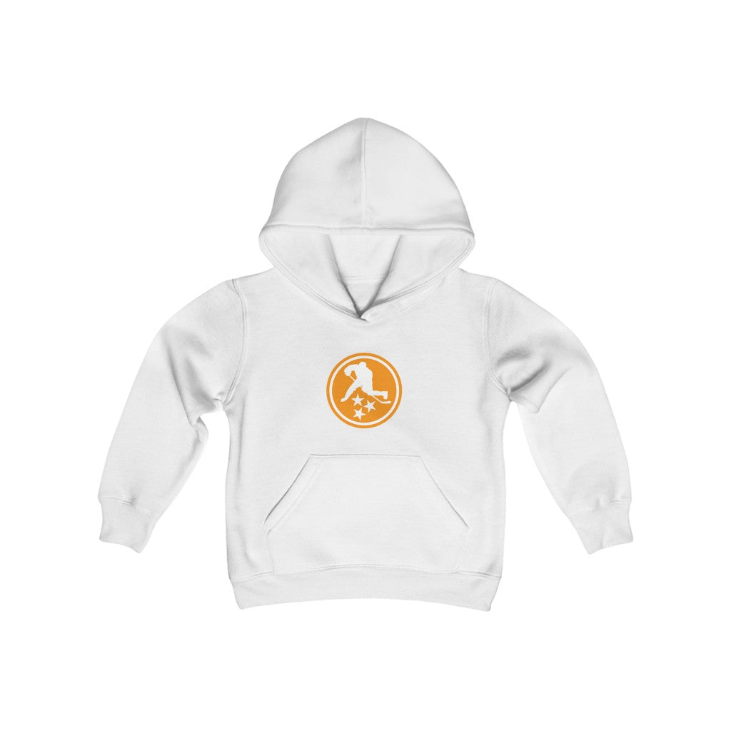 YOUTH TN HOCKEY CO. TENNESSEE ORANGE HOODIE