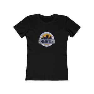 WOMEN'S NASH SKYLINE BADGE TEE