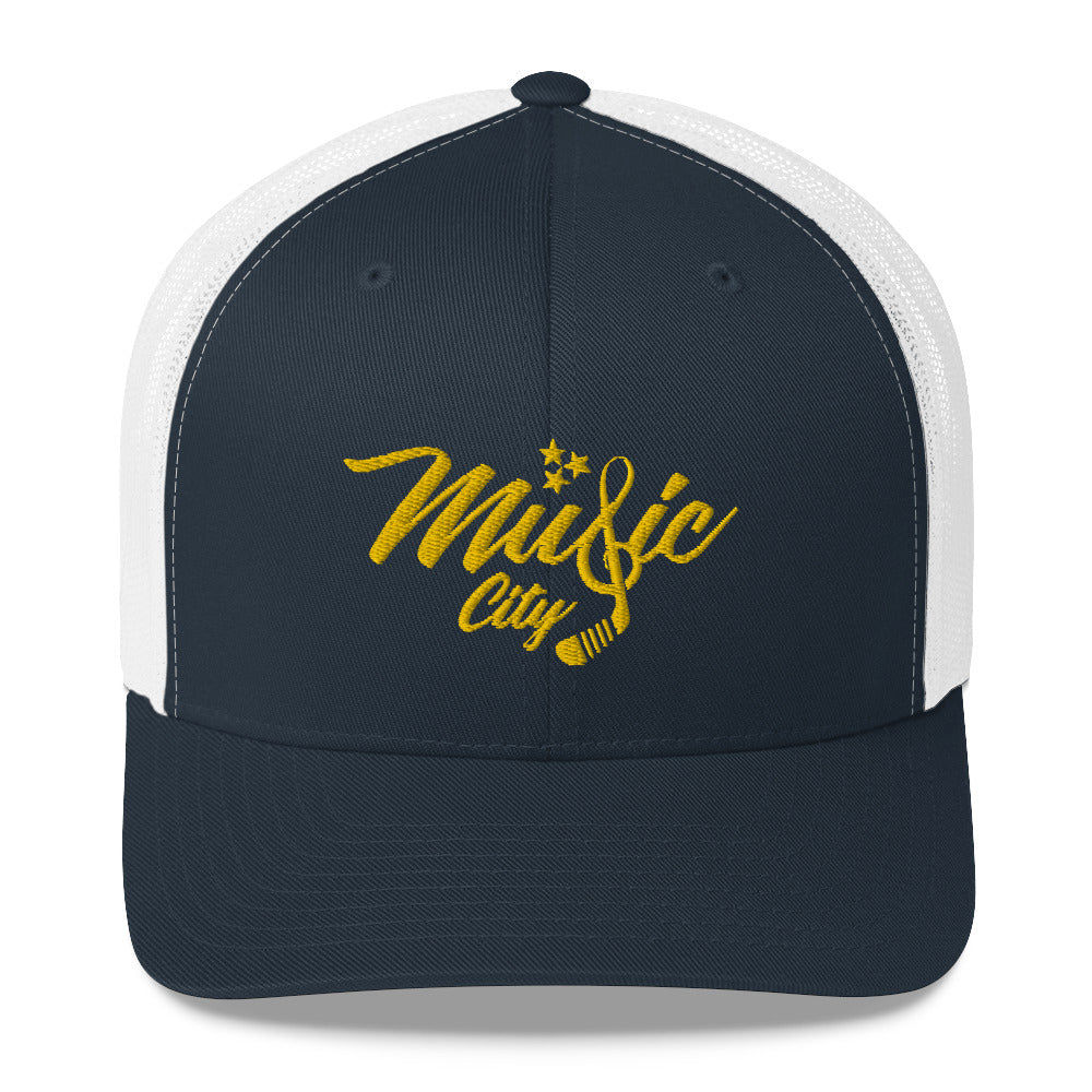 MUSIC CITY HOCKEY TRUCKER HAT