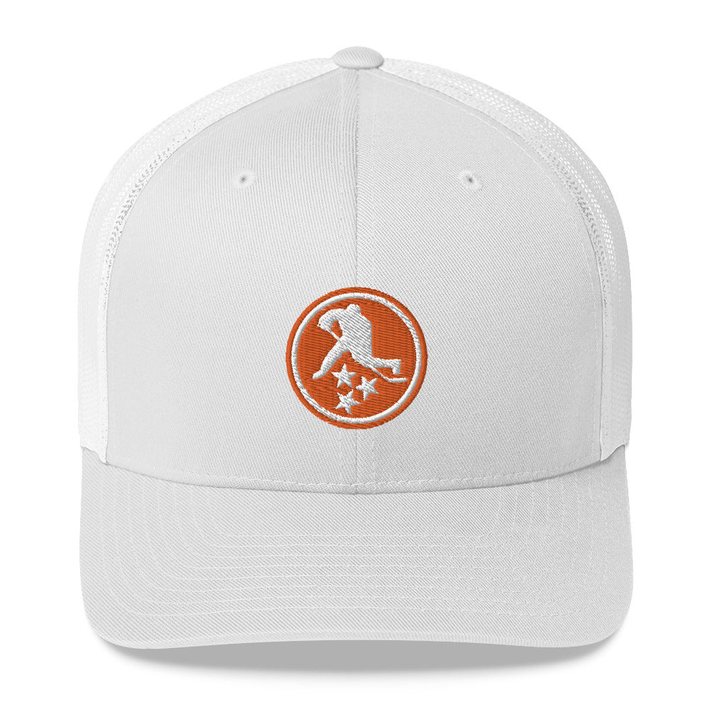 TN HOCKEY CO. TENNESSEE ORANGE TRUCKER