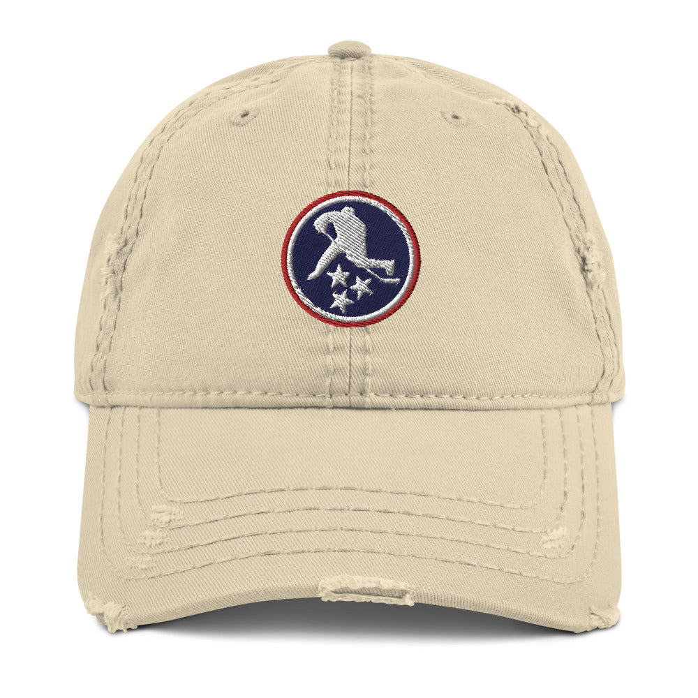 TN HOCKEY CO. DISTRESSED ICON DAD HAT