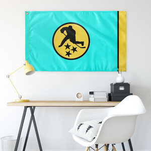 TN HOCKEY WALL FLAG