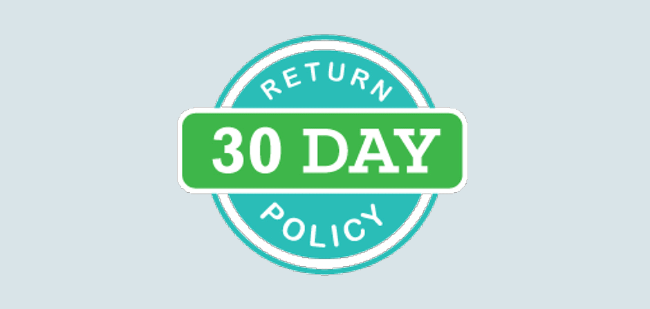 Simple, Easy Return and Refund Policy