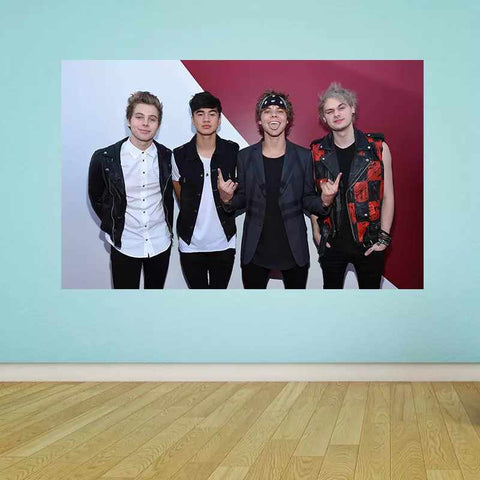 5 Seconds of Summer Ι - Time2PrintCanvas