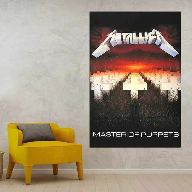 Metallica Master of Puppets - Time2PrintCanvas