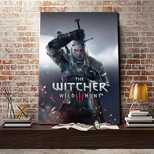 Witcher Wild Hunt - Time2PrintCanvas