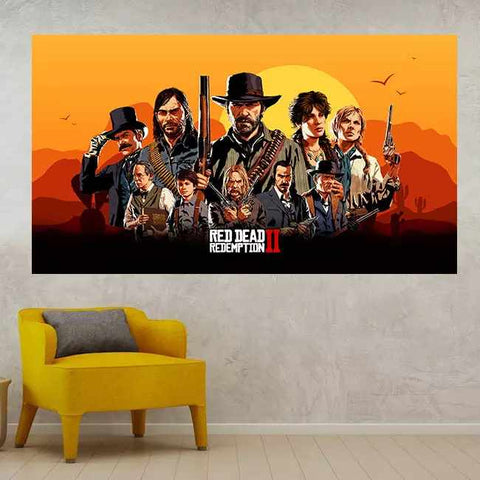 Red Dead Redemption 2 - Time2PrintCanvas