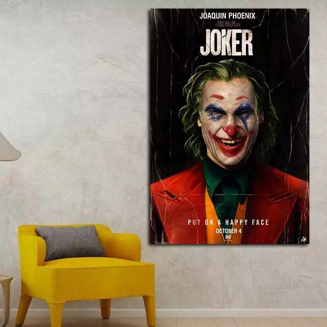 Joker I - Time2PrintCanvas