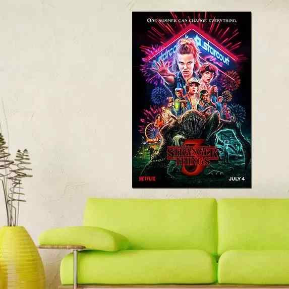 Stranger Things 3 - Time2PrintCanvas