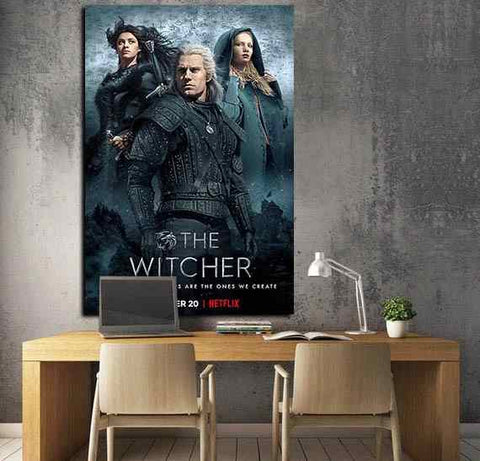 The Witcher Series - Time2PrintCanvas