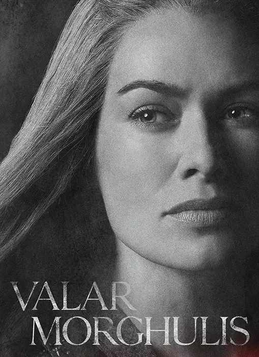 Game of Thrones Cersei - Time2PrintCanvas