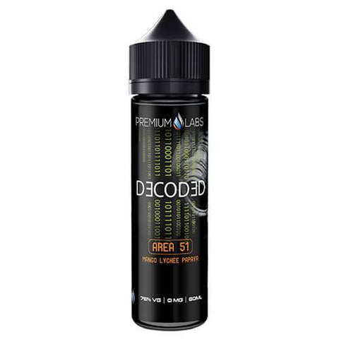 Decoded eLiquid - Area 51 - CravingVapes
