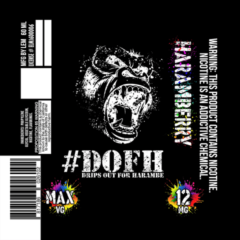 DOFH - Haramberry - CravingVapes