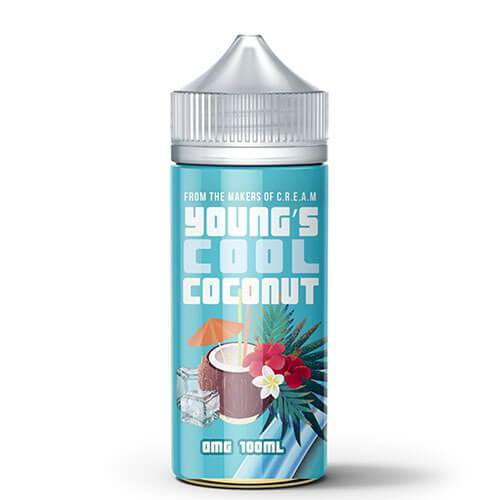 Young's Coconut eLiquid - Young's Cool Coconut - CravingVapes