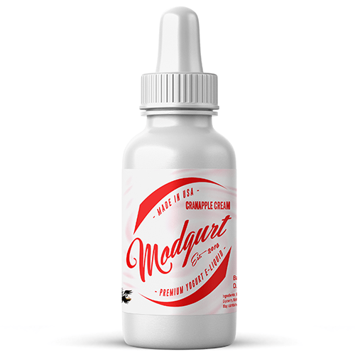 Modgurt Premium Yogurt E-Liquid - Cran-Apple Cream - CravingVapes