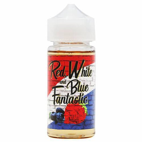 Thee Fantastics - Red White and Blue eJuice - CravingVapes