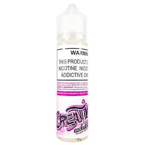 Creativ E-liquid - Violet Apple - CravingVapes