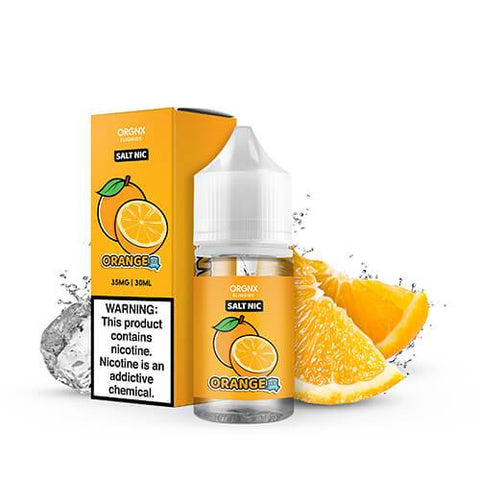 Orgnx Eliquids SALT - Orange Ice - CravingVapes