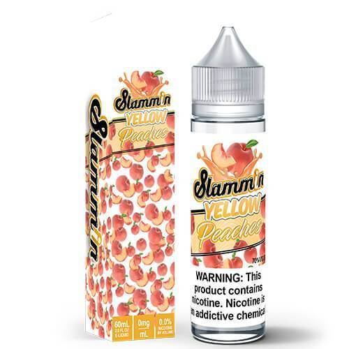 Slammin e-Liquid - Slammin Peach - CravingVapes