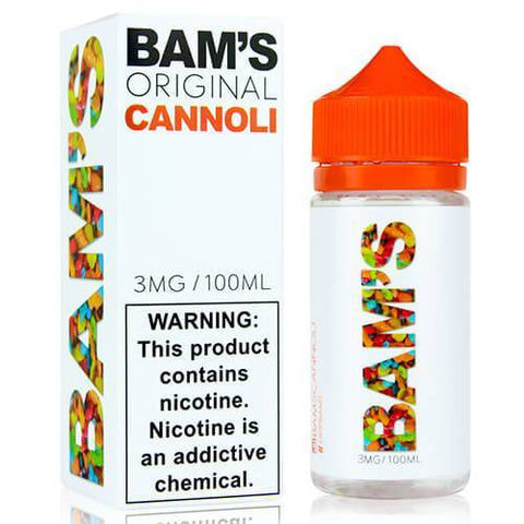 BAM's Cannoli - Original Cannoli - CravingVapes