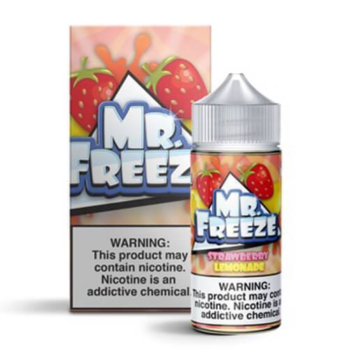 Mr. Freeze eLiquid - Strawberry Lemonade - CravingVapes